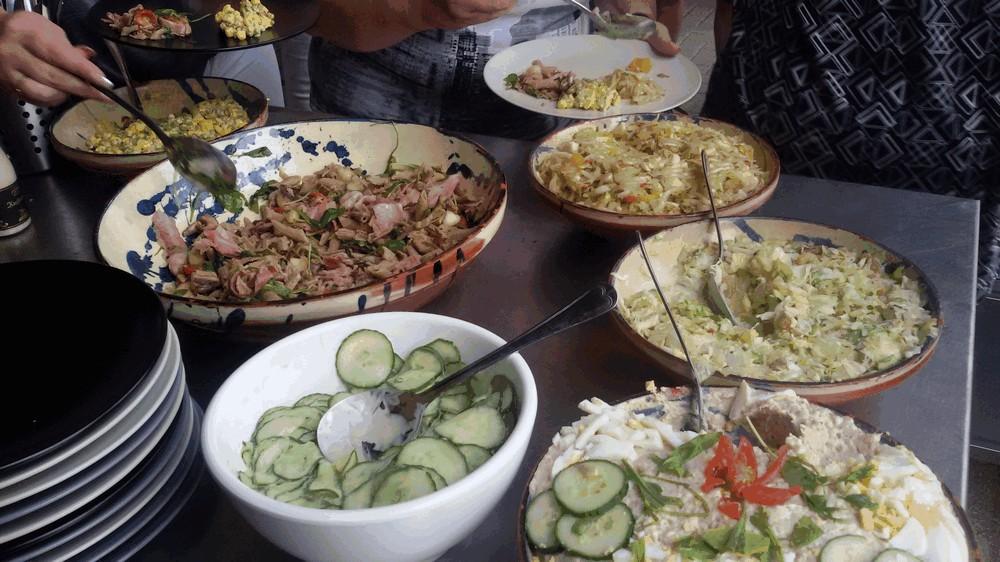 salades BBQ